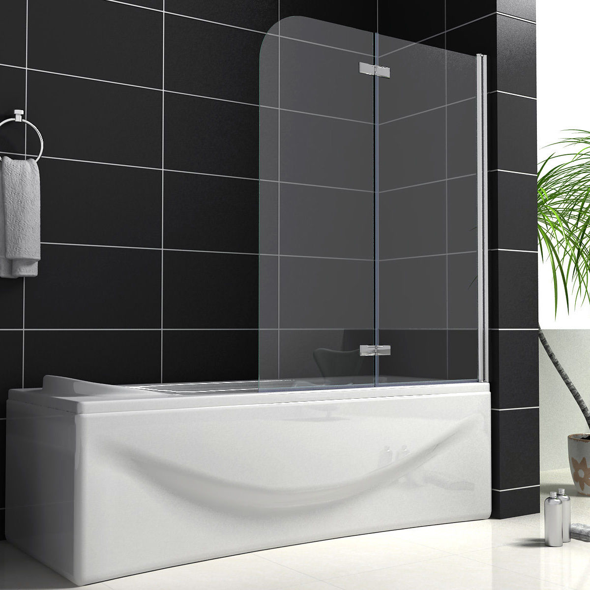 Easy Bathroom Ideas Bath Shower Screens Uk Bath Screens Uk