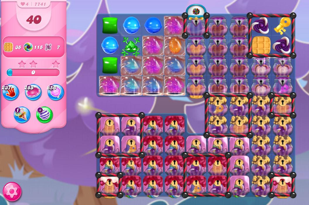 Candy Crush Saga level 7741