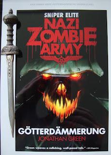 Portada del libro Nazi Zombie Army: Götterdämmerung, de Jonathan Green