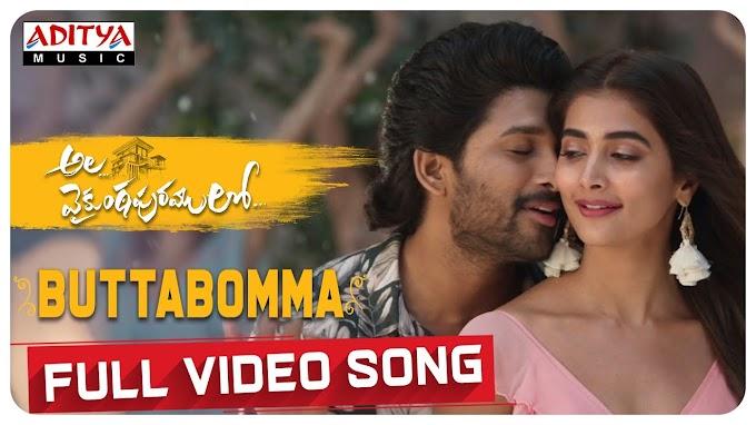 Butta Bomma Song Lyrics - Armaan Malik   Ala Vaikunthapurramloo