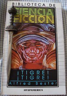 Portada del libro ¡Tigre! ¡Tigre!, de Alfred Bester