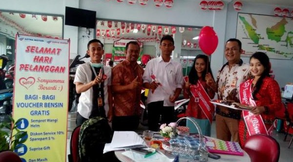 CV GEMILANG MOTOR HONDA : ADM, CONTER SALES, SUPIR DAN MARKETING - ACEH UTARA, INDONESIA