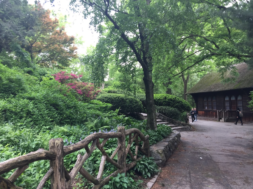 near the shakespeare garden in central park - Shakespeare Garden Central Park