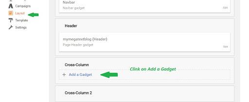blogger navigation menu