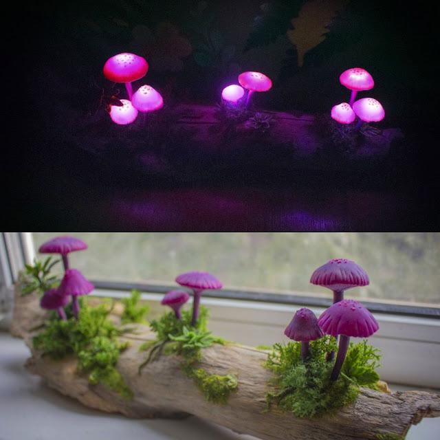 美しすぎるキノコのランプ・照明!部屋の中がおとぎ話に!【a】