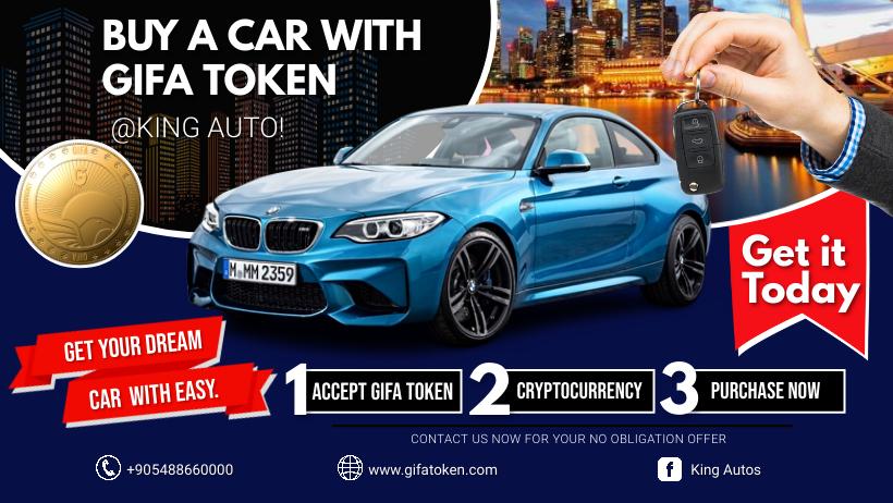 Buy A Car With GIFA Token At King Autos
