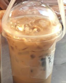 Iced Cambodian Coffee at Phnom Pehn Cambodia