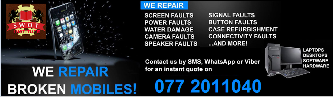 Mobile Phone Repairing Course | Reviews | Mobile Repair |i phone | Swot Institute | News |Nugegoda