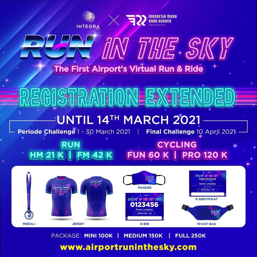 Medali � Run In The Sky • 2021