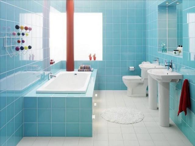 Desain Kamar Mandi Modern Sempit Minimalis