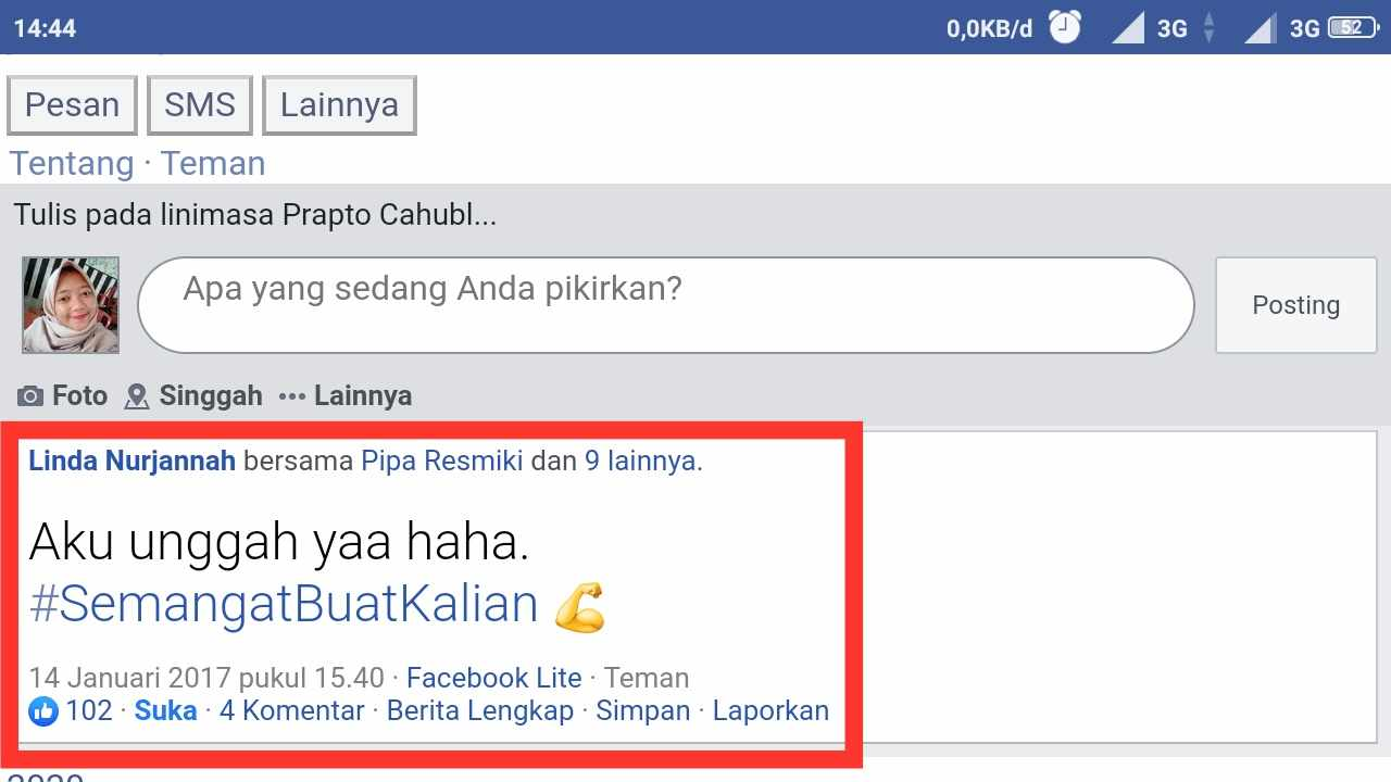 Cara menghapus teman facebook yang sudah tidak aktif