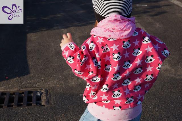 Little Poncho-Pulli - Fledermauspulli - Swafing Panda-Sweat Lenny - kaidso