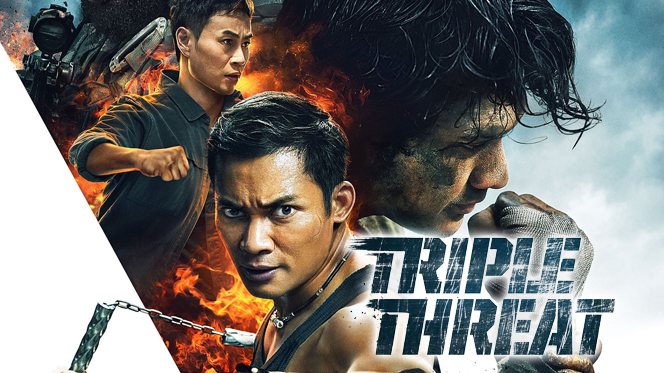 Triple amenaza (2019) BRRip 720p Castellano-Ingles