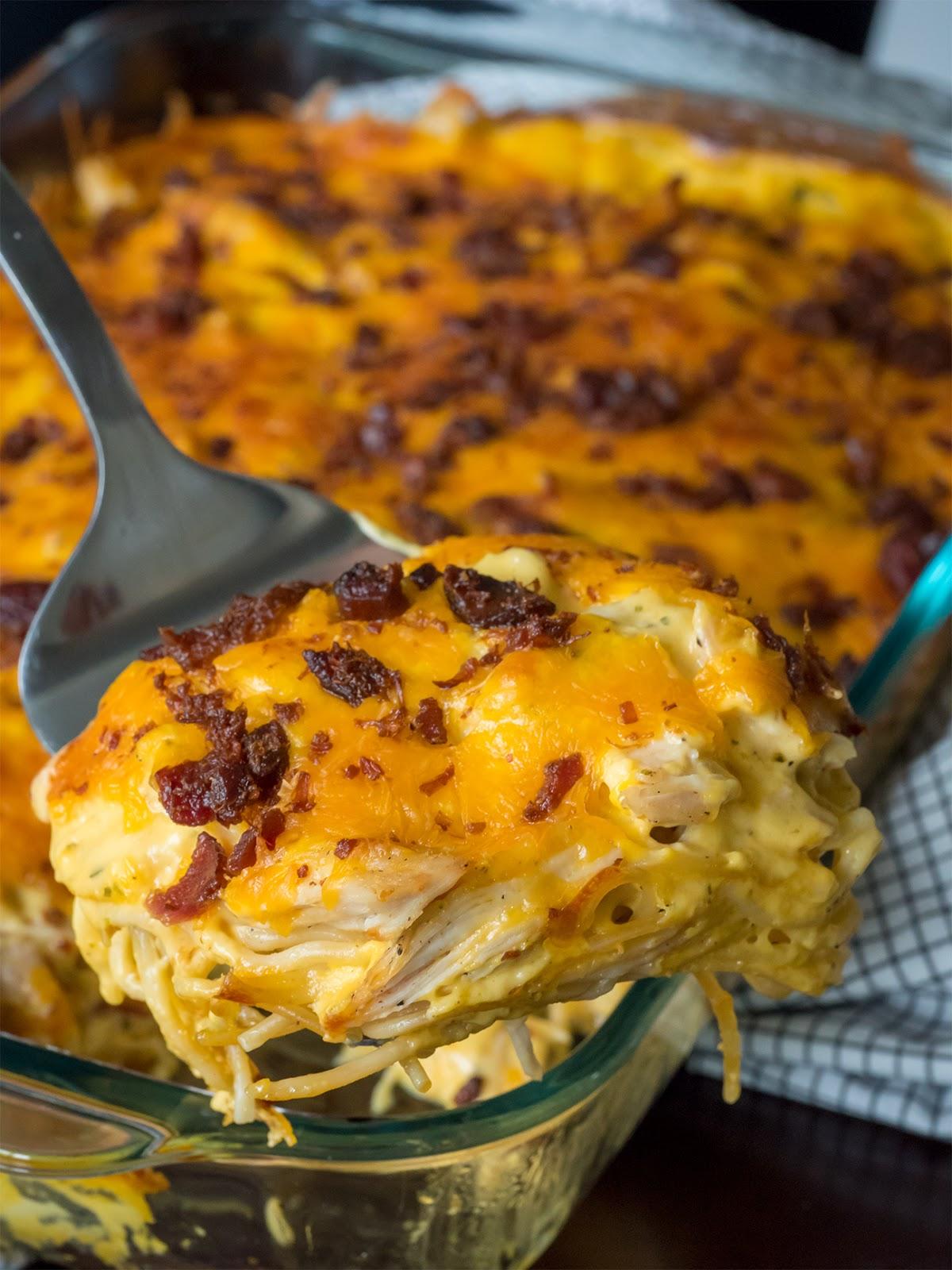 CHEESY CRACK CHICKEN CASSEROLE  #casserole #chicken #dinner #mealhealthy #familyrecipes