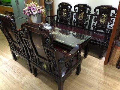 bàn ghế gỗ trắc giá bao nhiêu