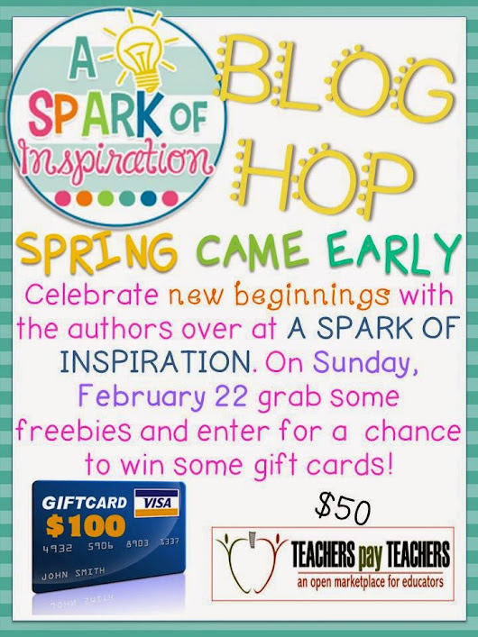 A Spark of Inspiration Blog Hop