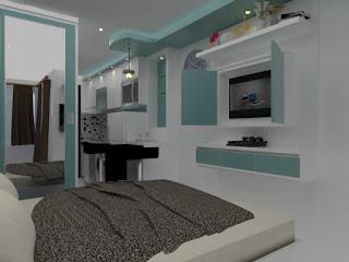 interior-studio-apartemen-the-enviro-bekasi
