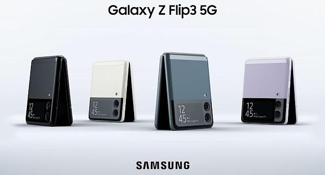 Samsung galaxy Z Flip3 Prix au Maroc, caractéristiques et fiche technique. Le Galaxy Z Flip3 8GB RAM