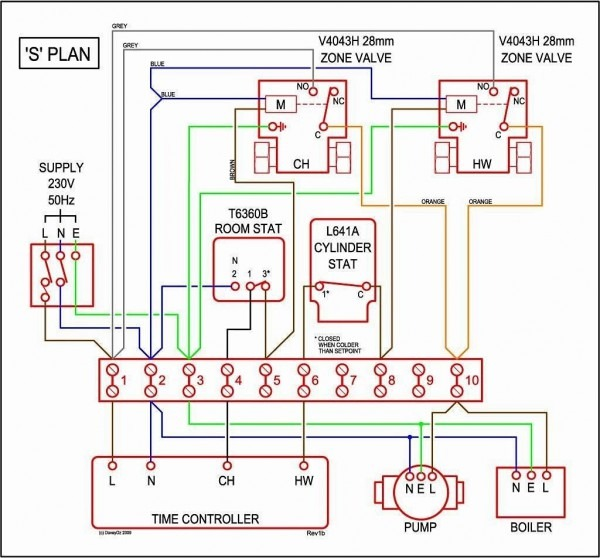 honeywell 3 port valve wiring diagram  free image diagram