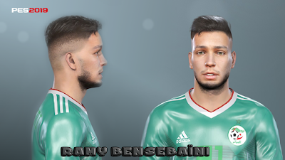 PES 2019 Faces Ramy Bensebaïni by Prince Hamiz