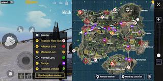 Cara Mengetahui Lokasi Looting Terbaik PUBG Mobile Dengan FlashDog