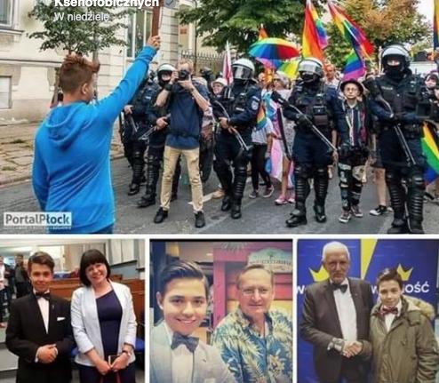 Jakub Baryła: na ten krzyż przysięgam, że do działania na Marszu Równości nikt mnie nie namawiał