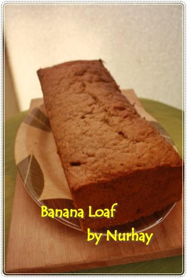 Banana Cake Fatmah Bahalwan