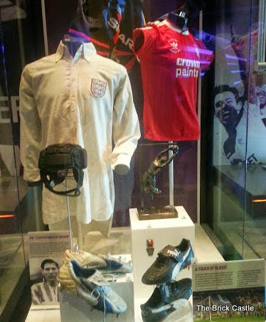 The National Football Museum at Urbis, Manchester Kit how it's changed