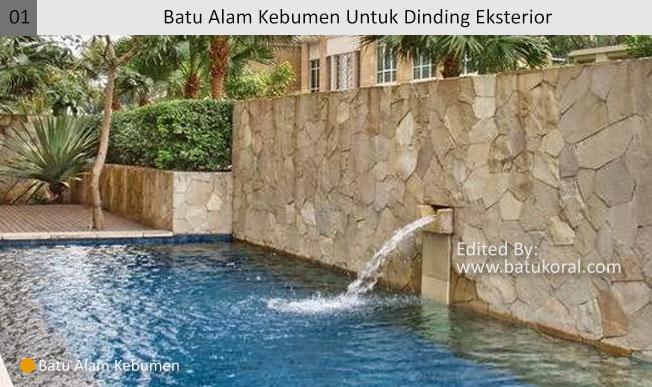 batu alam untuk kolam