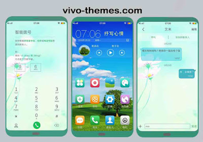 Natural Flower Theme itz For Vivo Android