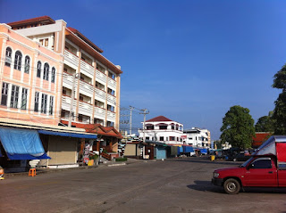 Riverfront Hotel in Mukdahan, North-East Thailand