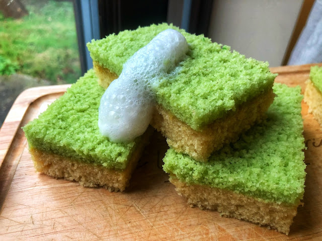 edible dish sponge cake