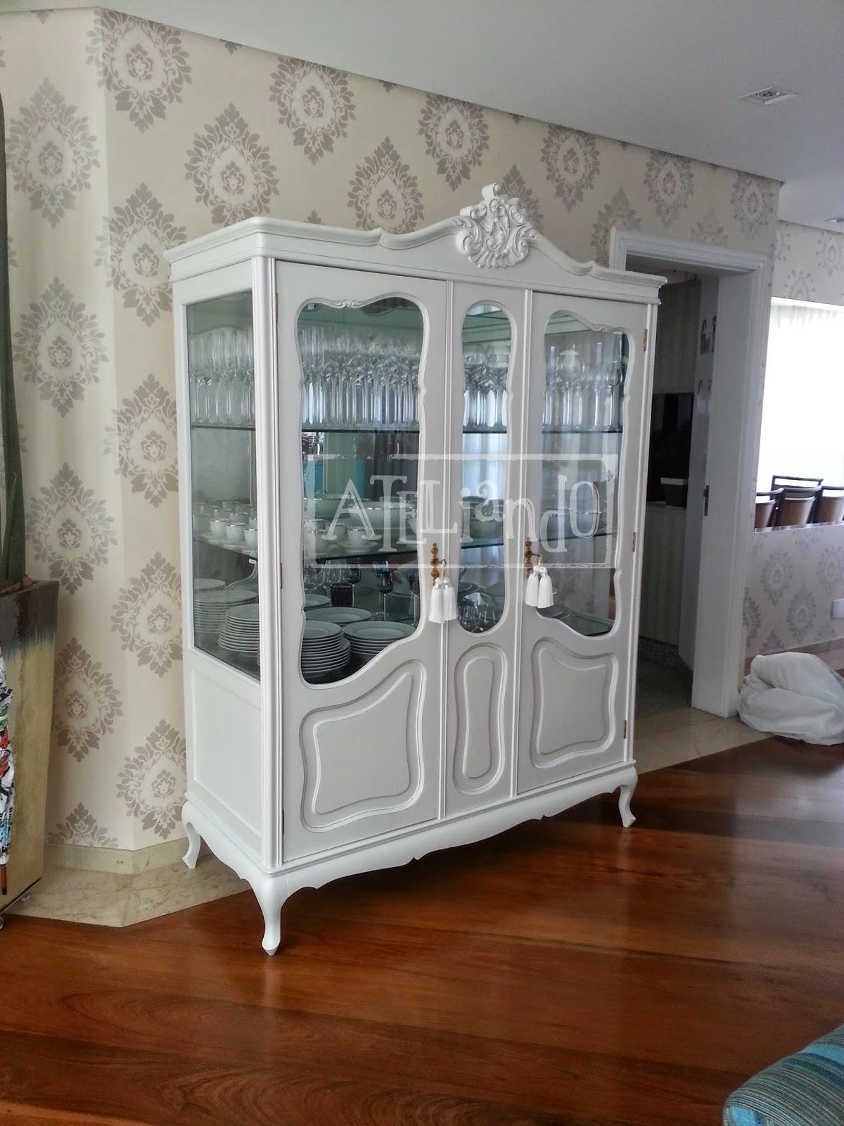 Ateliando Customização de móveis antigos: Cristaleira Natural #633419 1200x1600