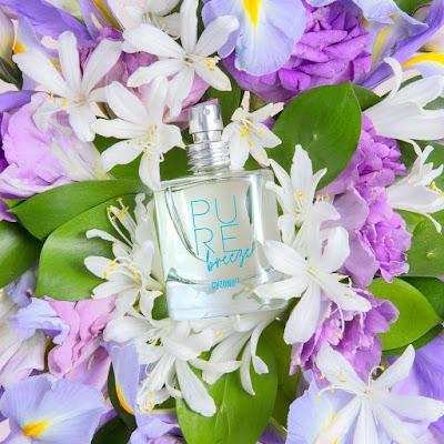 """Fragancia """"Pure Breeze"""", de la nueva colección de perfumes """"Pure"""" de Cyzone."""
