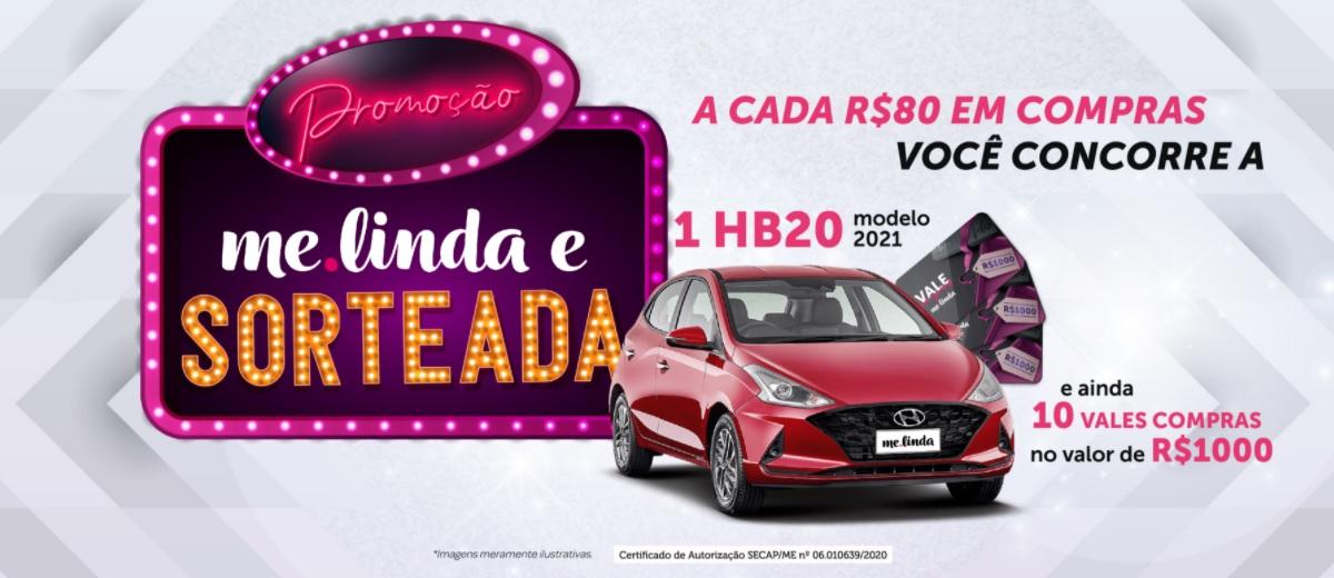Promoção Melinda Produtos 2020 Sorteada Carro e Vales-Compras 1 Mil Reais Cosméticos Perfumaria
