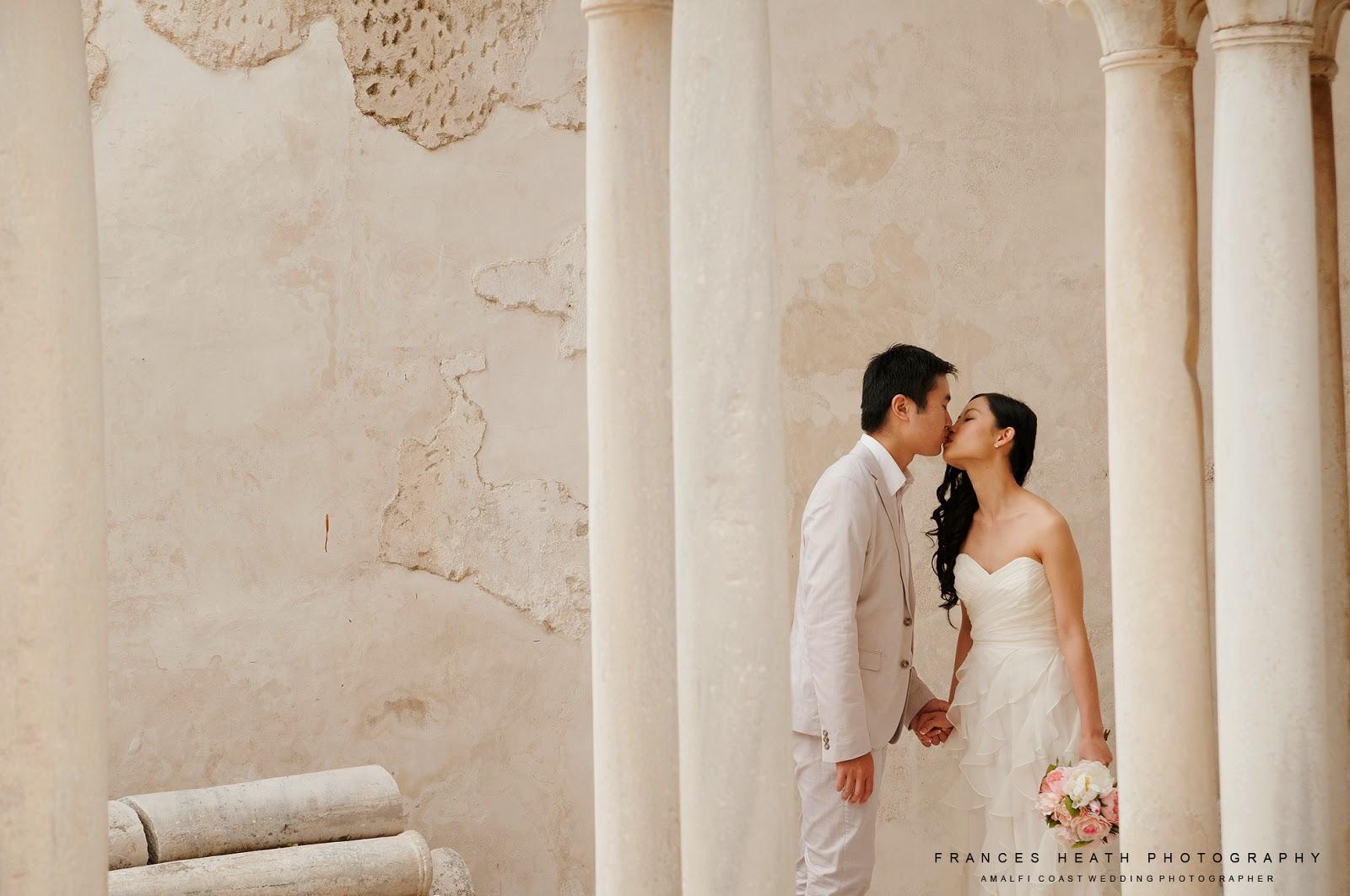 Wedding in Amalfi cloisters