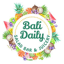 Healthy and fresh Bali Daily, Salad Bar and a choice of Juicery in Renon.