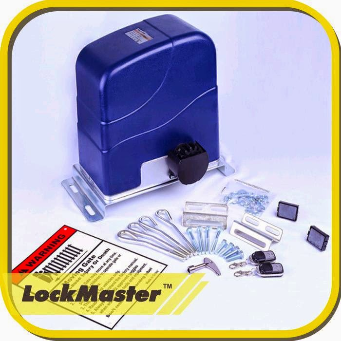 Lockmaster Sliding Gate Opener Manual
