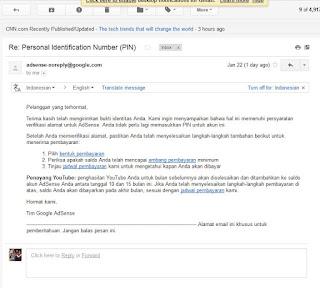 Email Adsense