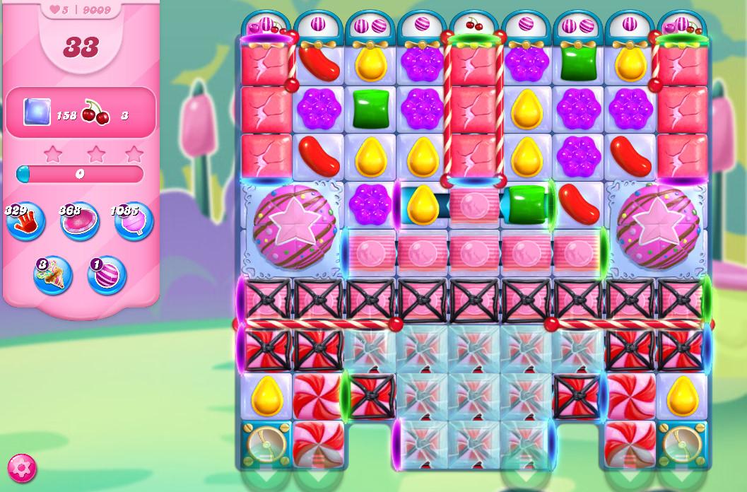 Candy Crush Saga level 9009