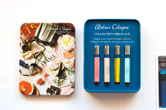 Atelier Cologne Necessaire Citrus Cologne absolue Set