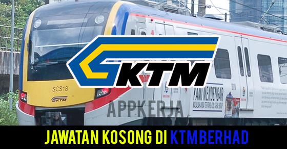 Jawatan Kosong di KTM Berhad