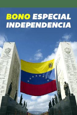 """Pendiente! Este viernes empezó a """"caer"""" el Bono Especial de Independencia"""