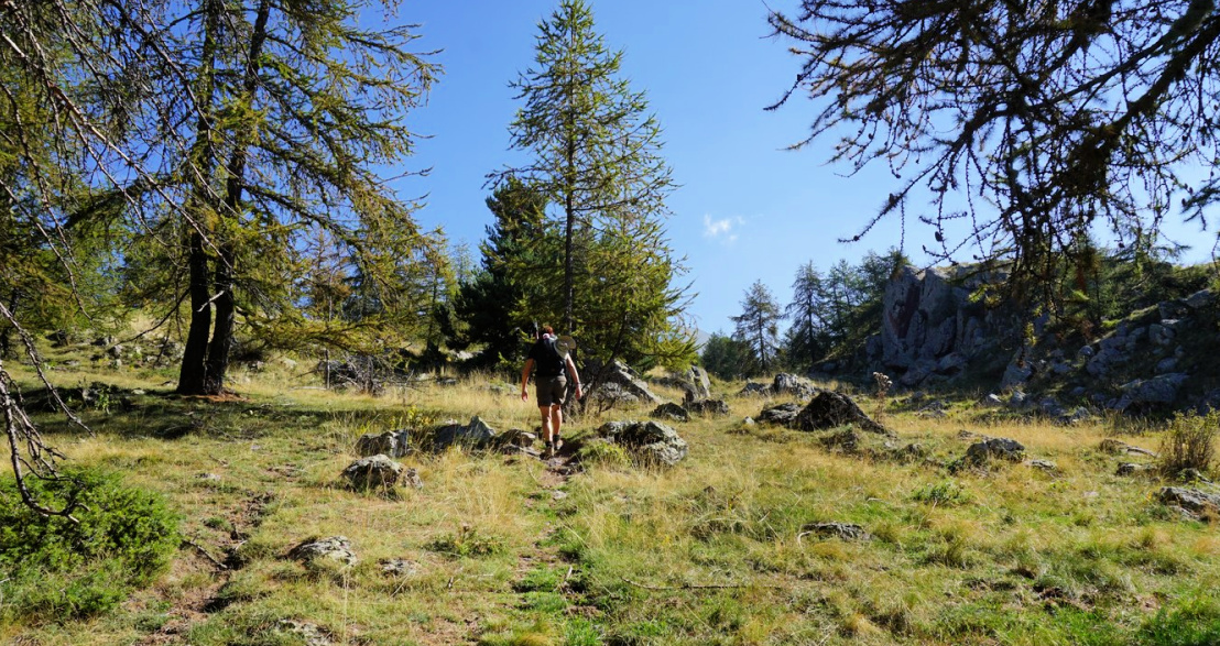 Trail to Serre de Clapeiruole