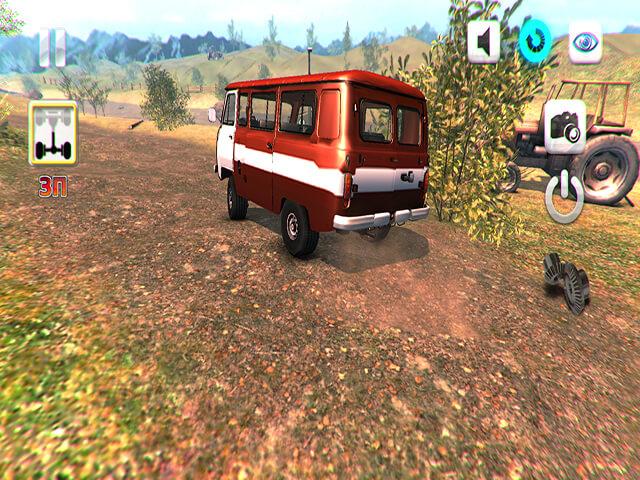 لعبة Uaz 4x4 Off Road Racing
