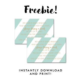 free bring a book inserts