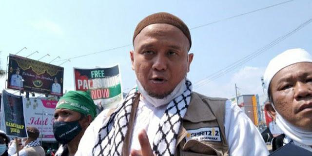 Gelar Aksi Di Tugu Adipura, Forum Masyarakat Lampung Desak Pemerintah Kirim Pasukan Ke Palestina
