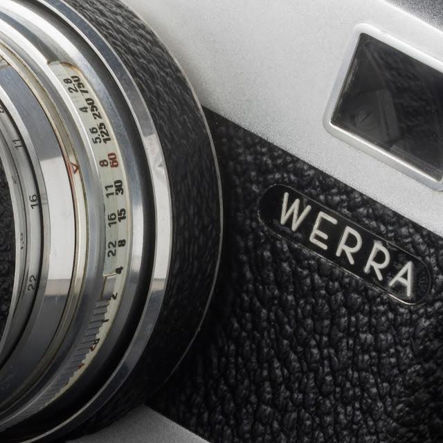 Werramatic: escalas de obturación y diafragma © Valentín Sama