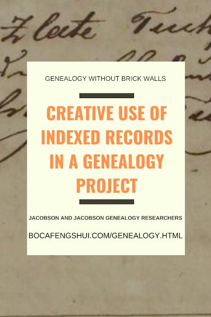 Jacobson and Jacobson Genealogy Researchers, Genealogy Blog, Genealogy Without Brick Walls
