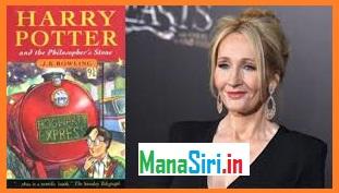 Harry Potter writer J K ROWLING